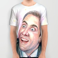 Nicolas Cage You Don't Say All Over Print Shirt by Olechka
