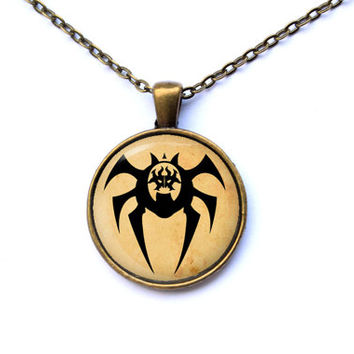 Magic the Gathering necklace Rakdos pendant fantasy jewelry