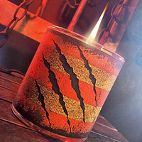 "Krueger Candle - ""Sweater Weather"" Scented - Horror Candles"