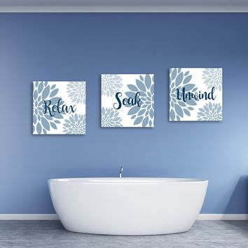 Relax Soak And Unwind Wall Art