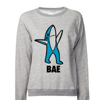 Left SHARK Bae Sweatshirt | Left Shark Bae Sweater | Right Shark Dancing Shark IDGAF bruh yas bae | Katy Perry Superbowl Performance