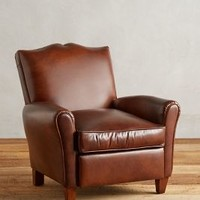 Leather Corbetta Chair by Anthropologie