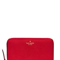 Kate Spade Mikas Pond Travel Wallet Pillbox Red ONE