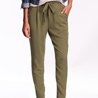 Old Navy Womens High Rise Soft Pants