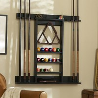 CUE STICK STORAGE RACK