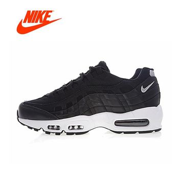 Original New Arrival Official NIKE Air Max 95 PRM Men's Running Shoes Classic breathable shoes outdoor anti-slip 538416-008