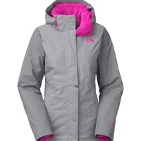 The North Face Inlux Insulated Jacket for Women in Mid Grey CLD6-V3T