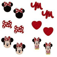Minnie Mouse Earrings Set - 6-Pair | Disney Store