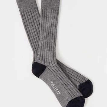Basic Melange Heather Grey