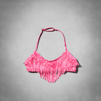 fringe swim top
