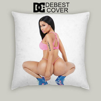 Nicki Minaj Anaconda Hot Pillow Cases Square Available In 16 x 16 Inches 18 x 18 Inches 20 x 20 Inches