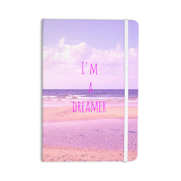 "Iris Lehnhardt ""I'm a Dreamer"" Beach Pink Everything Notebook"