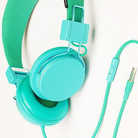 The Plattan Headphones with Mic in Ocean