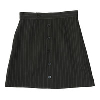 Pinstriped Button Front Skirt | STYLENANDA