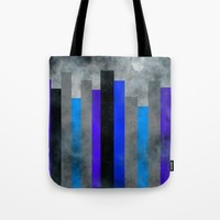 Fog In The City Tote Bag by Kathleen Sartoris