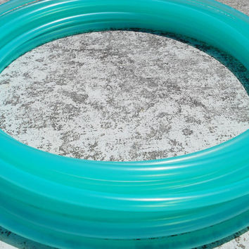 SALE! SeA GLaSs Colored Polypro Hula Hoop // Semi-Translucent Color // Custom Tubing, Diameter & Grip Options!