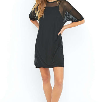 Sparkle & Fade Mesh T-shirt Dress - Urban Outfitters