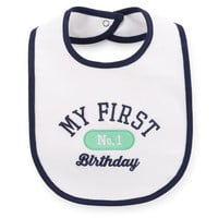 His 1st Birthday Bib