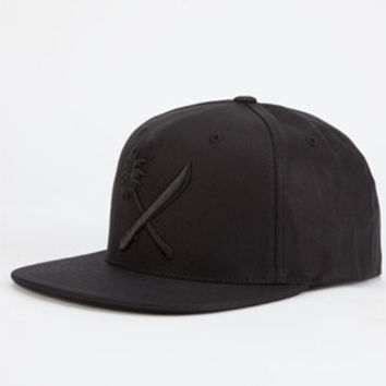 US VERSUS THEM Crosscut Waxed Mens Snapback Hat | Snapbacks
