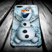 Disney Frozen olaf 2 iPhone 4/4s/5/5s/5c/6/6 Plus Case, Samsung Galaxy S3/S4/S5/Note 3/4 Case, iPod 4/5 Case, HtC One M7 M8 and Nexus Case **