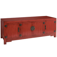 Mei TV Stand - Antique Red