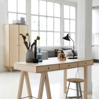 Wooden desk - Natural — BODIE and FOU - Award-winning inspiring concept store