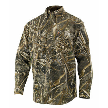 Wasatch Long Sleeve Shirt, Realtree Max 5 Camo Medium