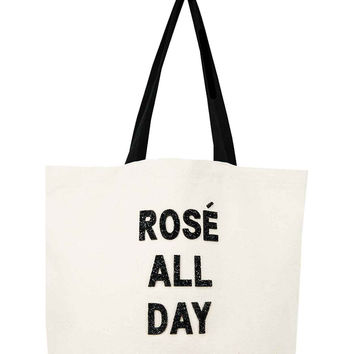 Crystallized Tote Bag- Rose All Day