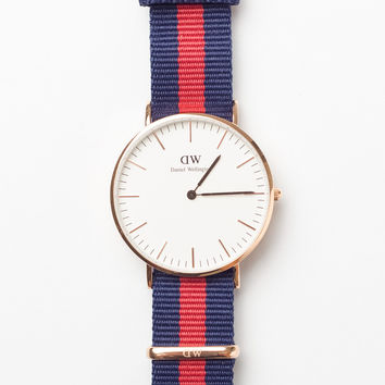 Classic Oxford 36mm Red/Blue Rose