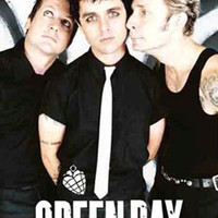 Green Day Band Photo Fabric Poster