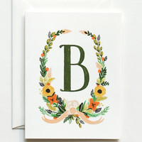 Rifle Paper Co. - Floral Monogram Cards