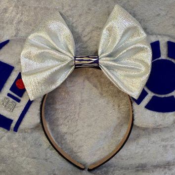 R2D2 Themed Mouse Ears