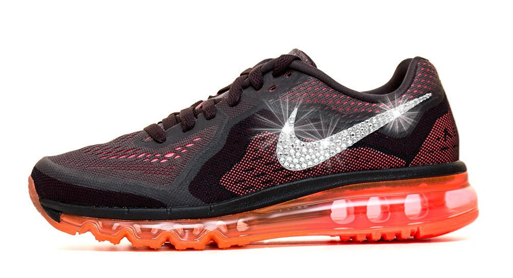 Women s Nike Air Max 360 Running Shoes By Glitter Kicks - Customized With  Swarovski Cr d00ea752a4