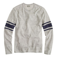J.Crew Mens Slim Football Tee In Stripe