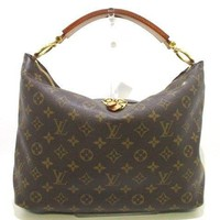 Auth LOUIS VUITTON Monogram Sully PM M40586 Shoulder Bag TJ1162