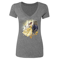 Belle and Beast Tee for Women - Beauty and the Beast - Live Action Film - Limited Release | Disney Store