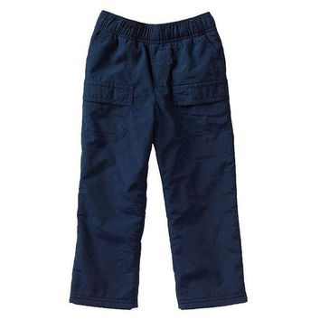 DCCKX8J Jumping Beans Fleece-Lined Cargo Pants - Toddler Boy Size