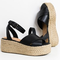 Much Publicized Espadrille Platform