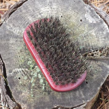 Military Boar Bristle Brush