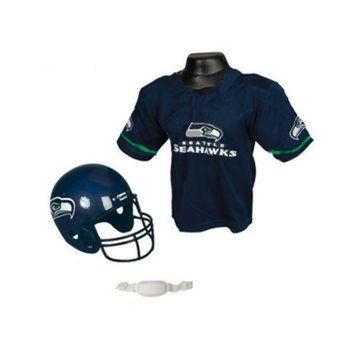 PEAPYD9 Seattle Seahawks Youth NFL Helmet and Jersey Set