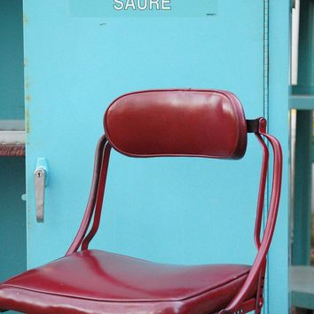 Industrial Office Chair Vintage Machine Age by MyMidCentury