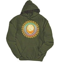 Grateful Dead Orange Sunshine Adult Pullover Hoodie