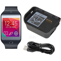New Smartwatch Charging Cradle Dock Charger For Samsung Galaxy Gear 2 Neo R381 With USB Cable SM-R381 Smart Watch Case Adapter