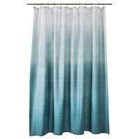 Threshold™ Ombre Shower Curtain - Blue
