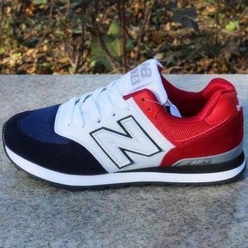 ONETOW new balance men women casual running breathable sport shoes sneakers