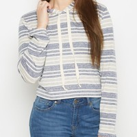 Navy Striped Hoodie By Sadie Robertson X Wild Blue | Hoodies | rue21