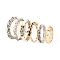 H&M 6-pack Rings $7.95