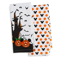 Mickey and Minnie Mouse Halloween Kitchen Towel Set | Disney Store