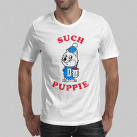 Such Puppie T-Shirt - Doge Meme T-Shirt - Shibe Shiba Inu Men's T-Shirt S M L XL XXL