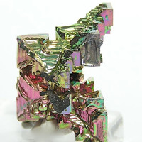 Bismuth Hoppered Crystal 3 color Lab Grown Free US Shipping